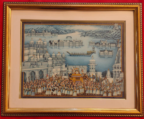Udaipur City Framed Collection Painting