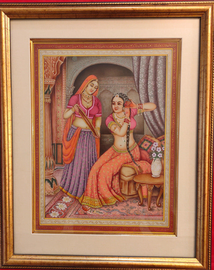 Lady Maharani Framed Art Collection