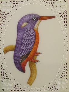 KingFisher Bird Art Collection Home