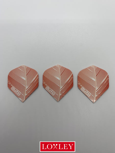 Orange or Grey Feather Flights (5 sets : Standard shape)