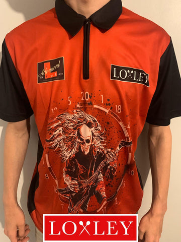 Ryan Searle - Replica Darts Shirt (Red)
