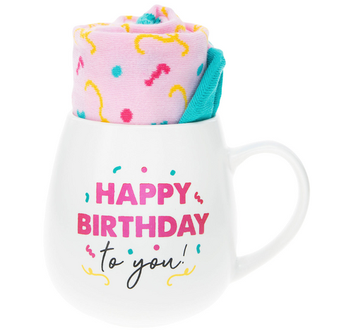Birthday Mug & Sock Set