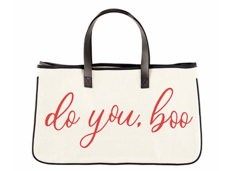 Do You Boo Canvas Tote