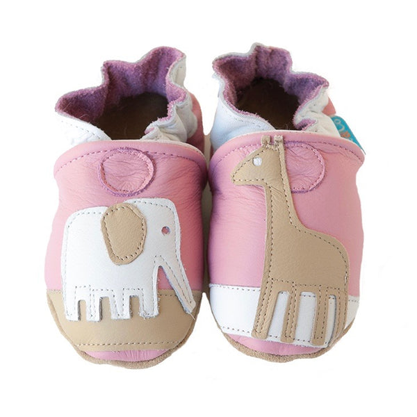 Safari Gift Set (pink, with matching shoes, onesie, pant, hat)