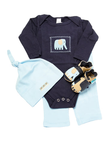 Safari Gift Set (navy, with matching shoes, top, pant, hat)