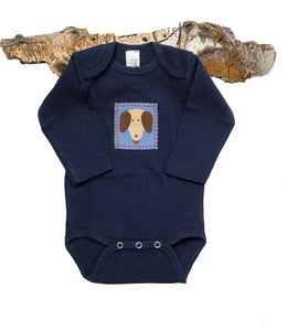 Yip&Yap Onesie (navy long-sleeve)