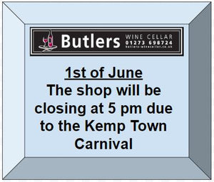 1st of June - Kemp Town shop opening hours