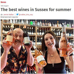 Best Wines for Summer - article in Argus
