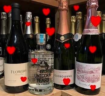 Valentines assistance with Butlers Wine Cellar