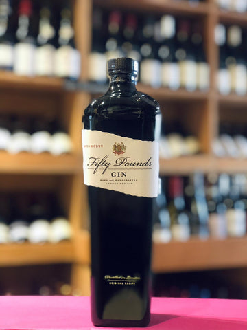 FIFTY POUNDS LONDON DRY GIN 43.5%