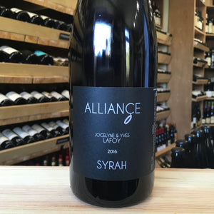Syrah 'Alliance' Domaine Jocelyne & Yves Lafoy 2016 - Butlers Wine Cellar Brighton