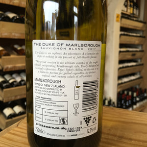 The Duke Marlborough Sauvignon Blanc 2018