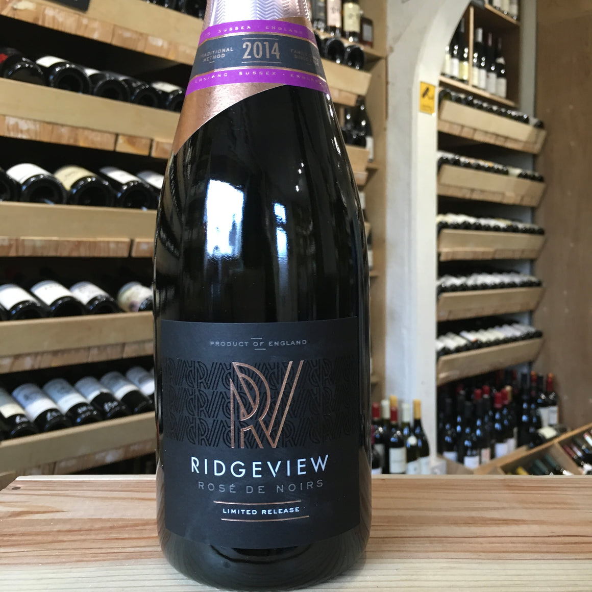 Ridgeview Rose de Noirs 2014 - Butlers Wine Cellar Brighton