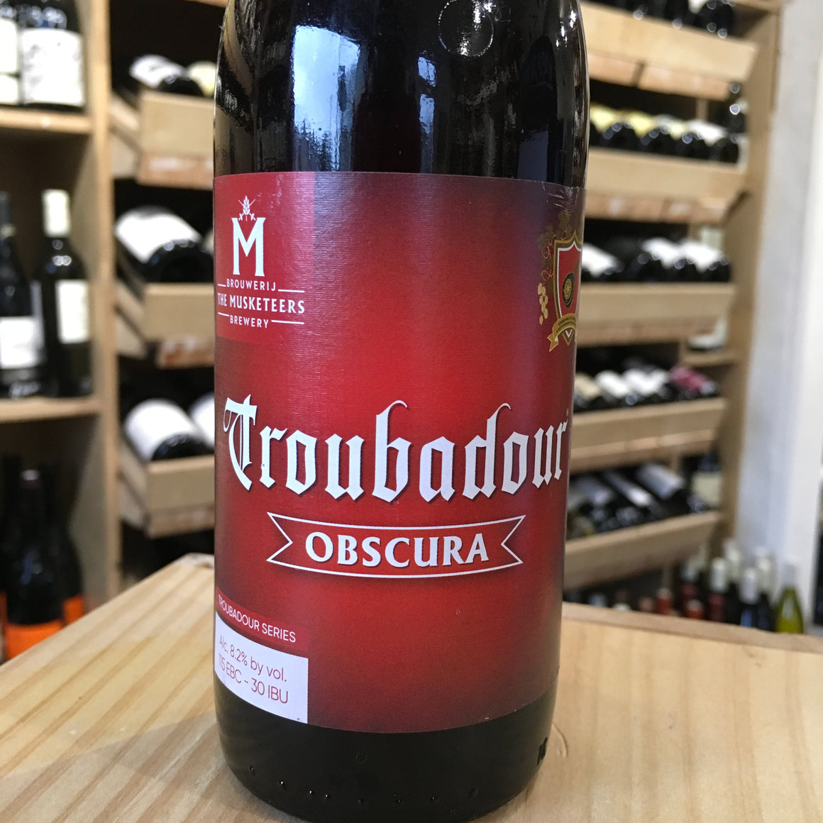 Troubadour Obscura 8.2% Abv - Butlers Wine Cellar Brighton