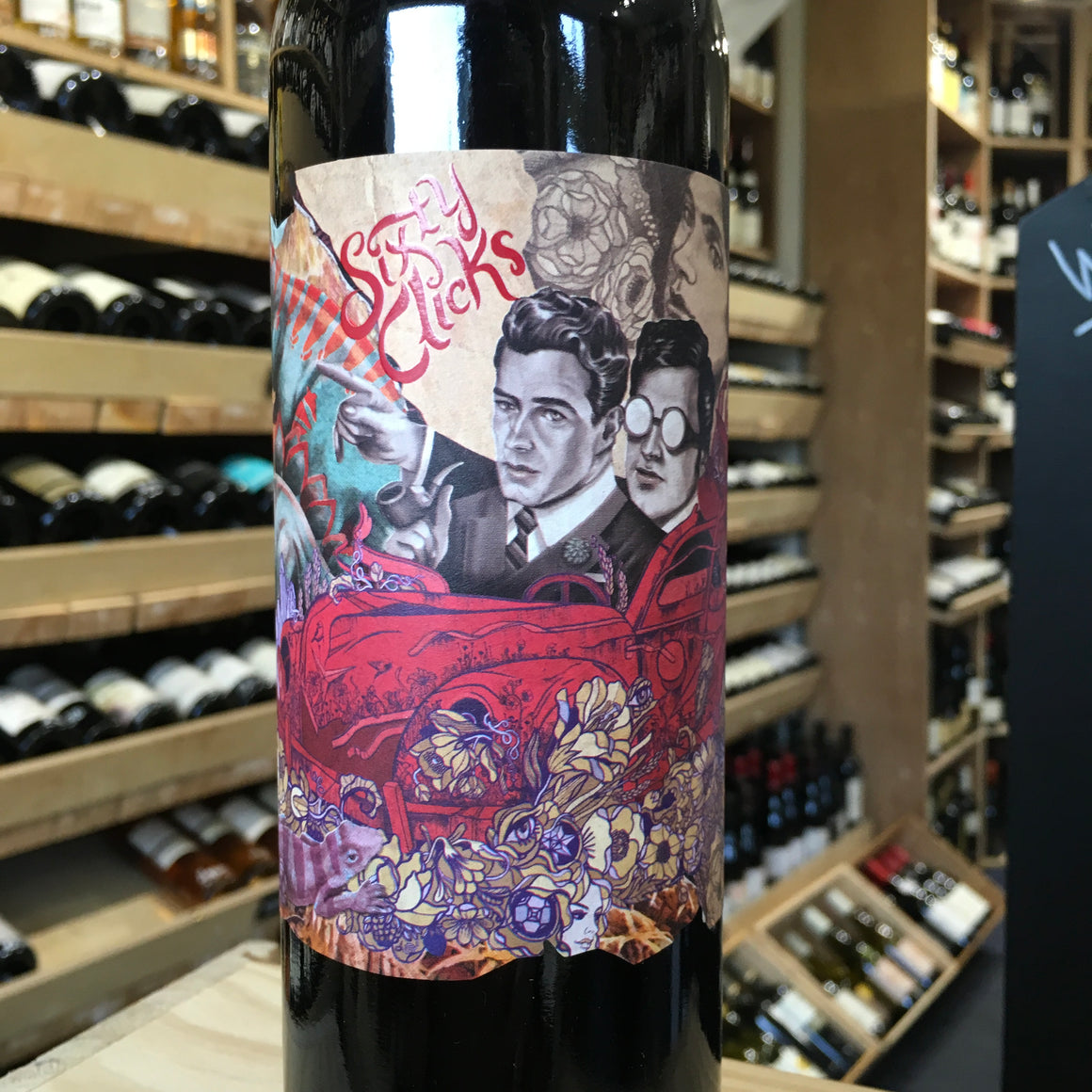 Sixty Clicks, Shiraz Mataro, 2018 - Butlers Wine Cellar Brighton