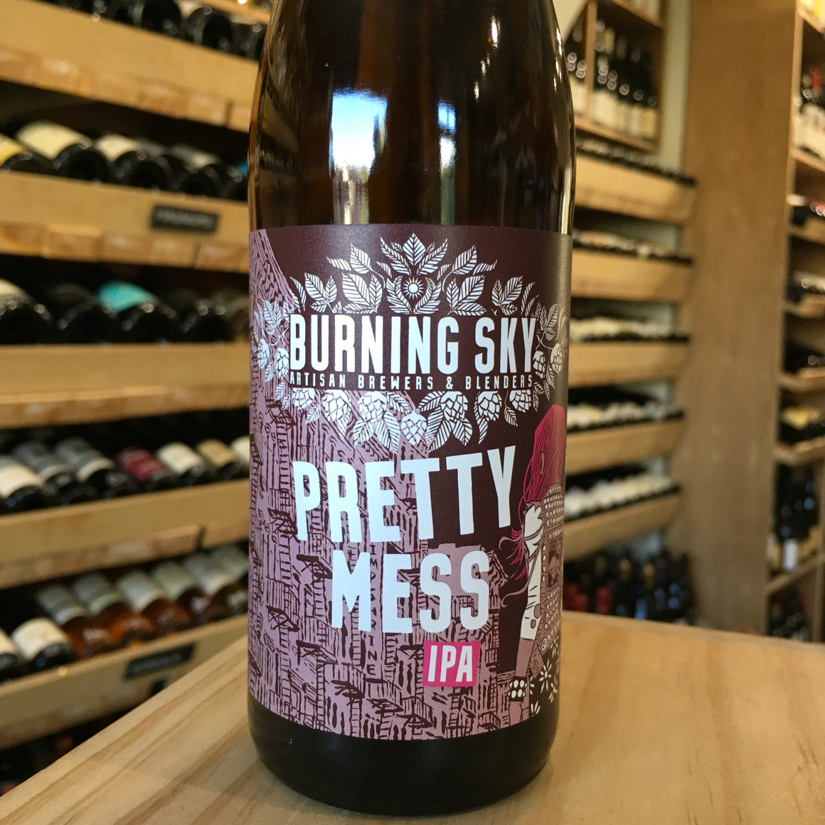 Burning Sky Pretty Mess 33cl 7% Abv