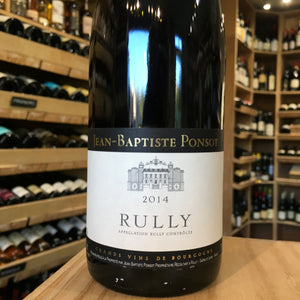 Rully Rouge Jean- Baptiste Ponsot 2014