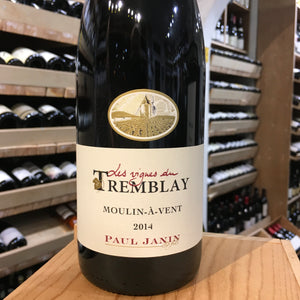 Moulin A Vent, Domaine des Vignes du Tremblay, Janin 2014 - Butlers Wine Cellar Brighton