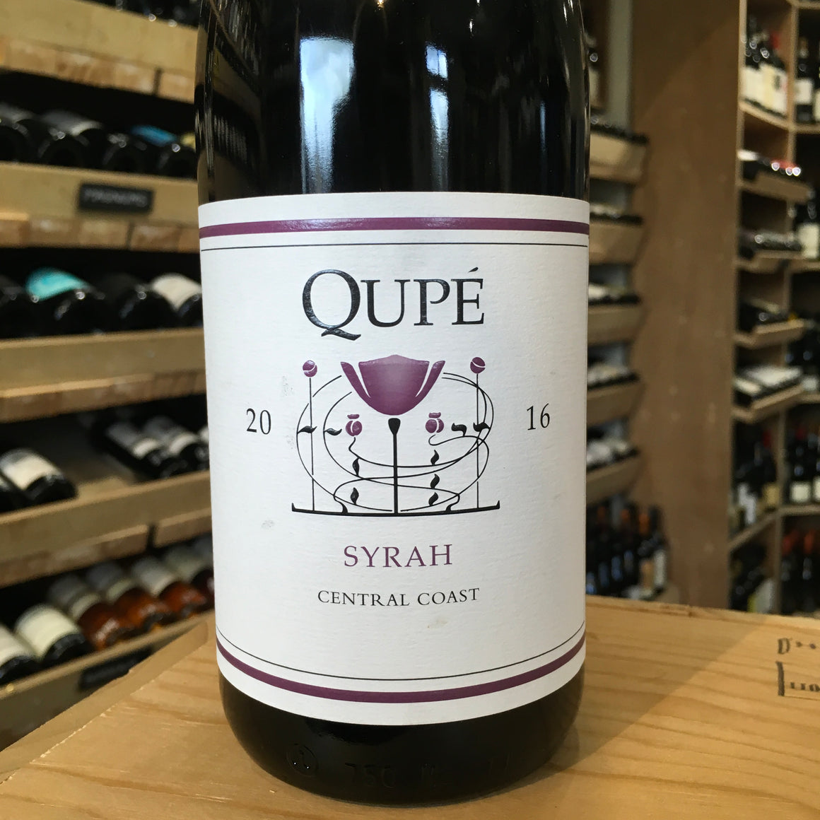Qupe Central Coast Syrah 2016 - Butlers Wine Cellar Brighton