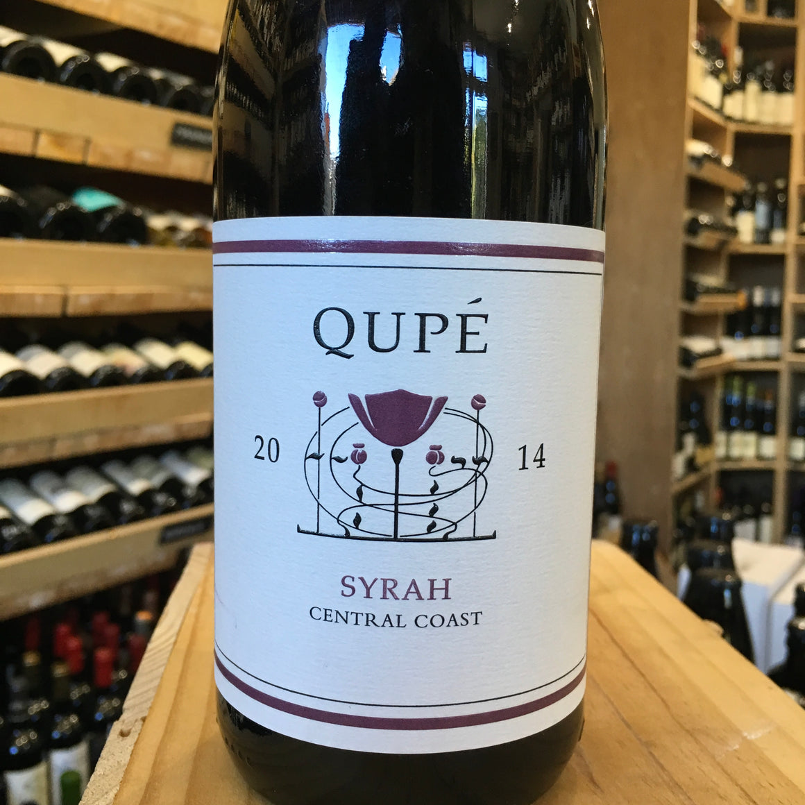 Qupe Central Coast Syrah 2014 - Butlers Wine Cellar Brighton