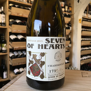 Seven of Hearts Chardonnay 2015 - Butlers Wine Cellar Brighton