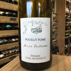 Pouilly Fume Arret Buffatte Tinel Blondelet 2015 - Butlers Wine Cellar Brighton