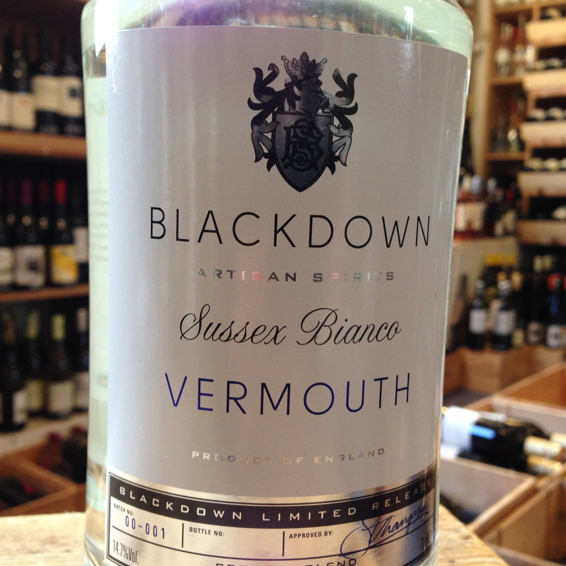 Blackdown Sussex Bianco Vermouth - Butlers Wine Cellar Brighton