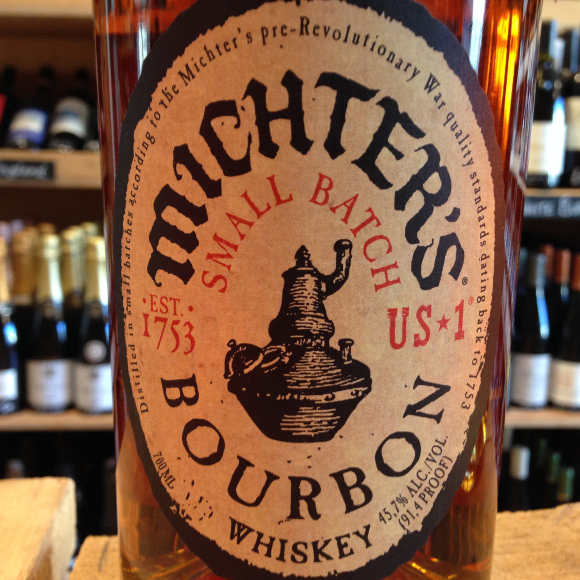 Michter's Number 1  Bourbon 70cl 45.7% Abv - Butlers Wine Cellar Brighton