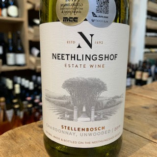 Neethlingshof Chardonnay Unwooded 2019 - Butlers Wine Cellar Brighton