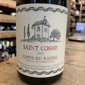 St Cosme Cotes du Rhone Rouge 2018 - Butlers Wine Cellar Brighton