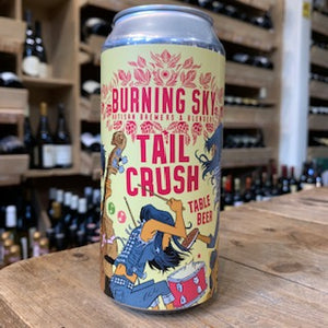 Burning Sky Tail Crush Can 44cl can 3% Abv - Butlers Wine Cellar Brighton