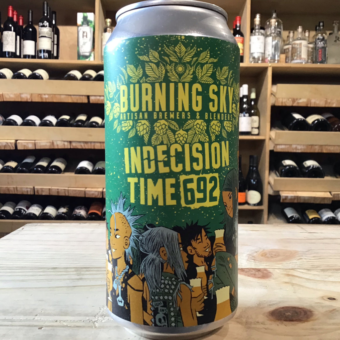 Burning Sky Indecision Time 692 44cl can 5.6% Abv