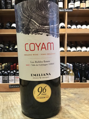 Emiliana Coyam Colchagua Valley Organic 2017 - Butlers Wine Cellar Brighton