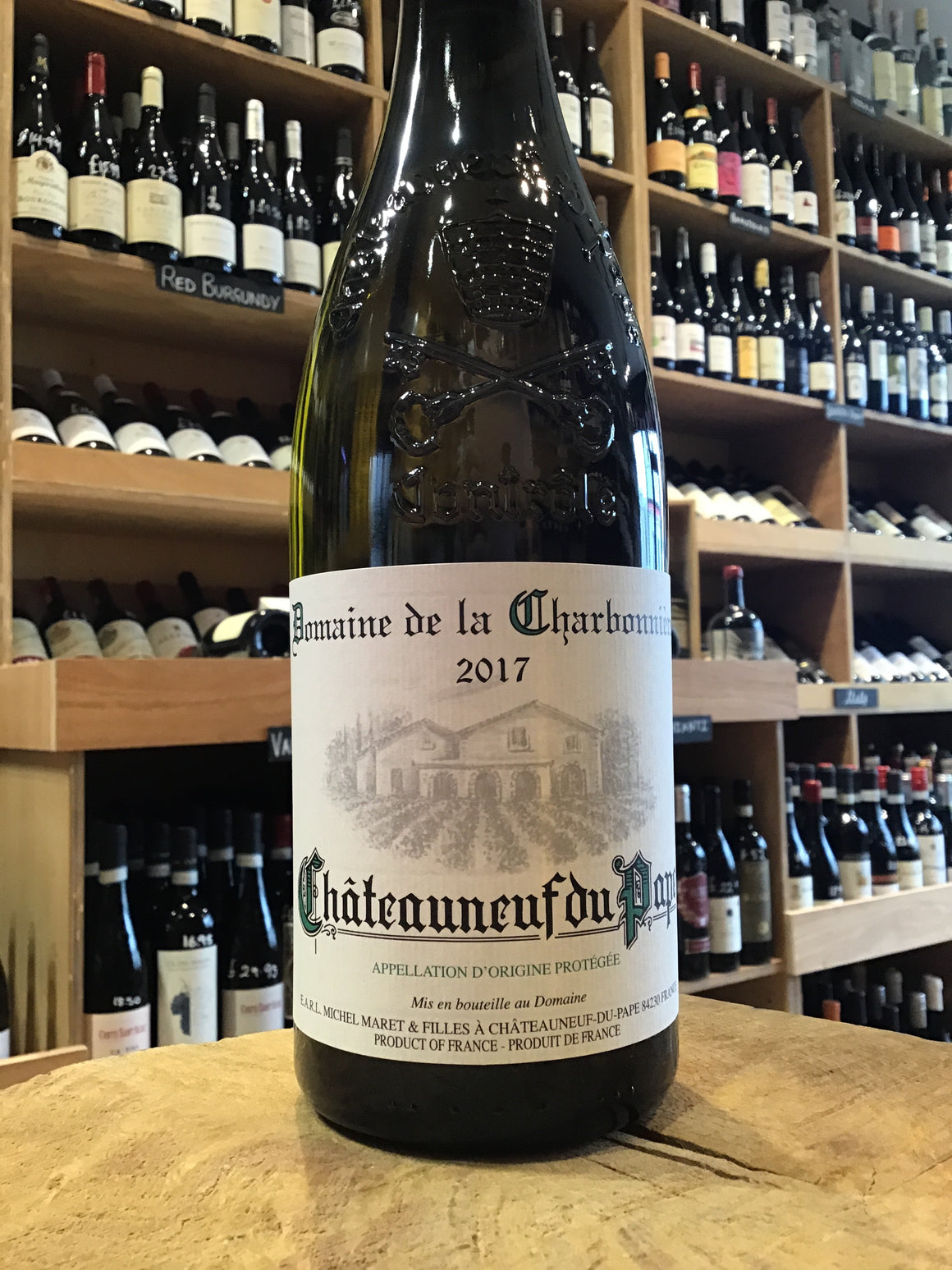 Chateauneuf du Pape Blanc, Domaine Charbonniere 2017 - Butlers Wine Cellar Brighton