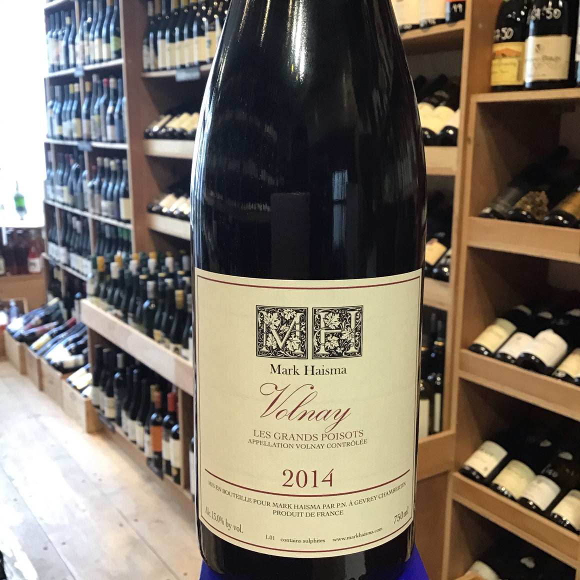 Volnay Les Grands Poisots, Mark Haisna 2014 - Butlers Wine Cellar Brighton