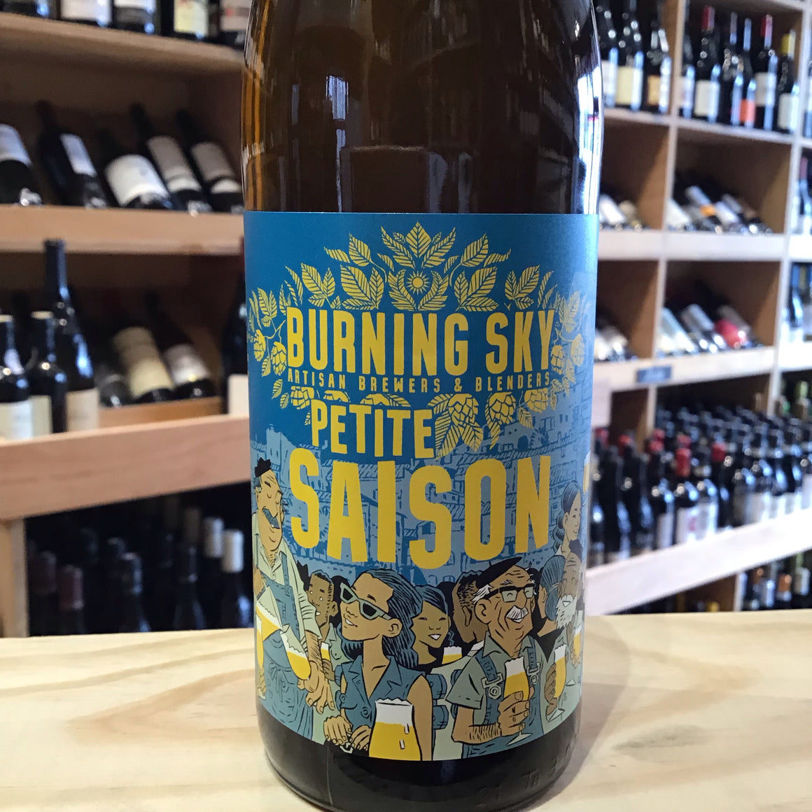 Burning Sky Petit Saison 33cl 3.5% Abv