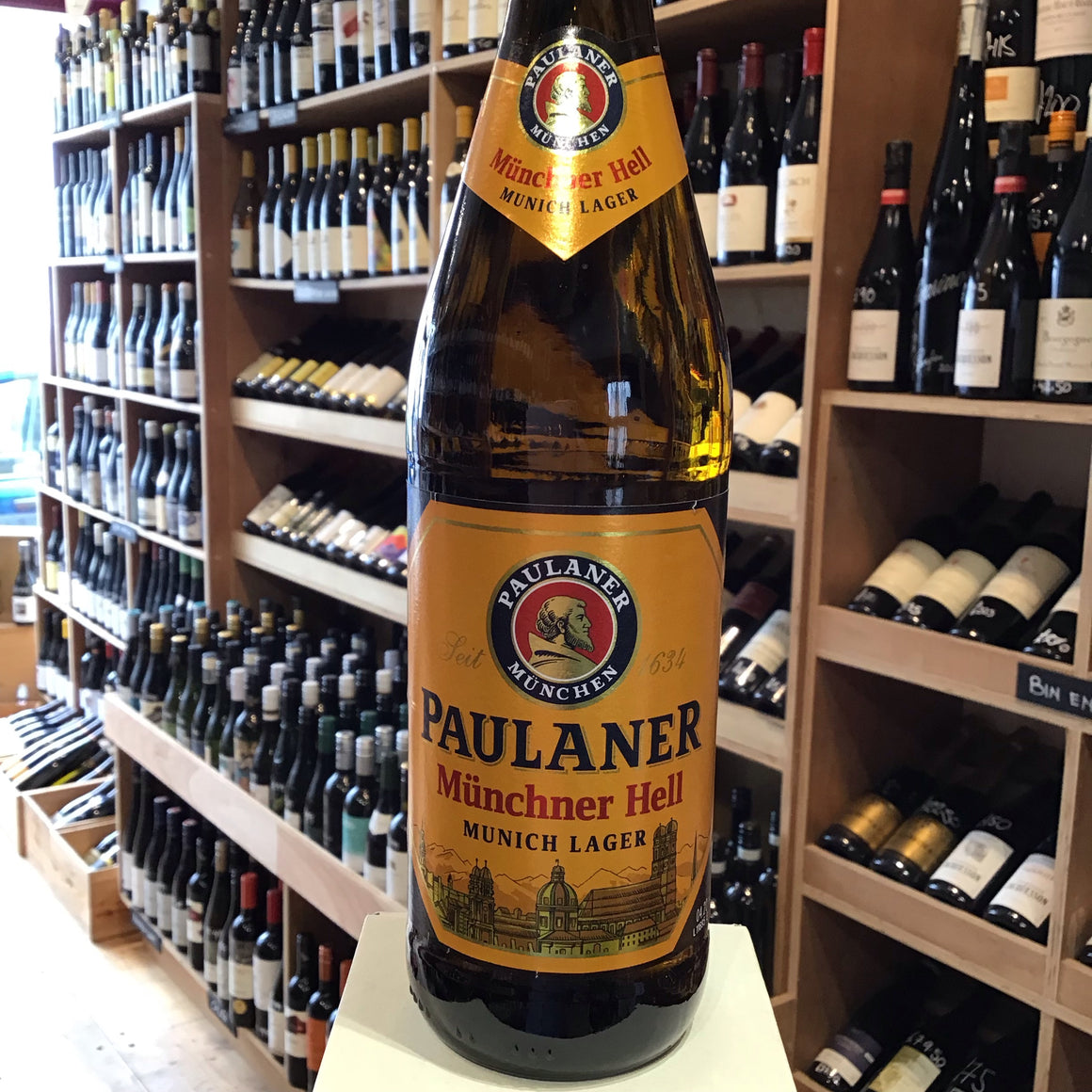 Paulaner Munich Lager 50cl 4.9% Abv - Butlers Wine Cellar Brighton