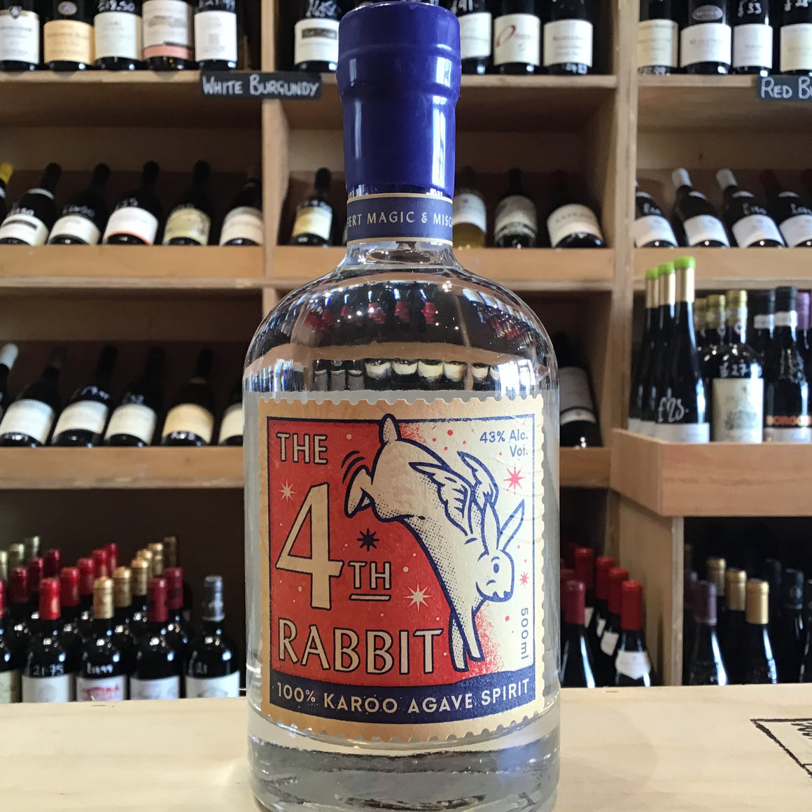 AA Badenhorst 4th Rabbit Mezcal 50cl - Butlers Wine Cellar Brighton