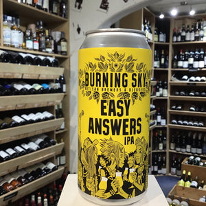 Burning Sky Easy Answers 44cl can 6% Abv - Butlers Wine Cellar Brighton