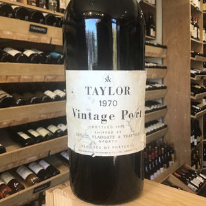 Taylor's 1970 vintage port - Butlers Wine Cellar Brighton