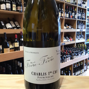 Chablis 1er Cru Fourchaumes (Fevre) 2018 - Butlers Wine Cellar Brighton