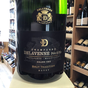 Delavenne Pere & Fils Champagne Brut Tradition Grand Cru NV - Butlers Wine Cellar Brighton