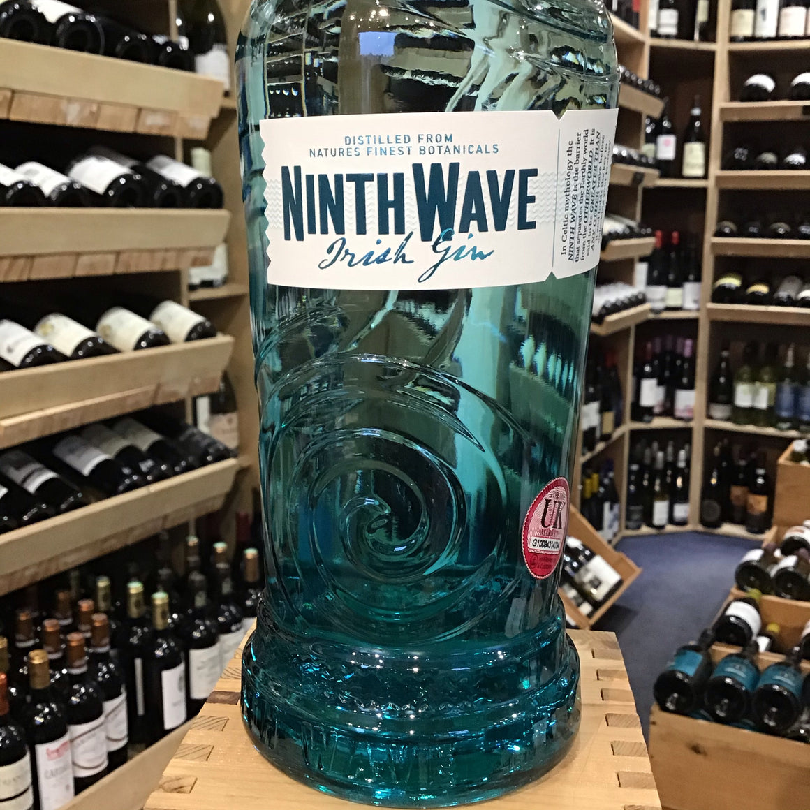 The Ninth Wave Irish Gin 70cl - Butlers Wine Cellar Brighton