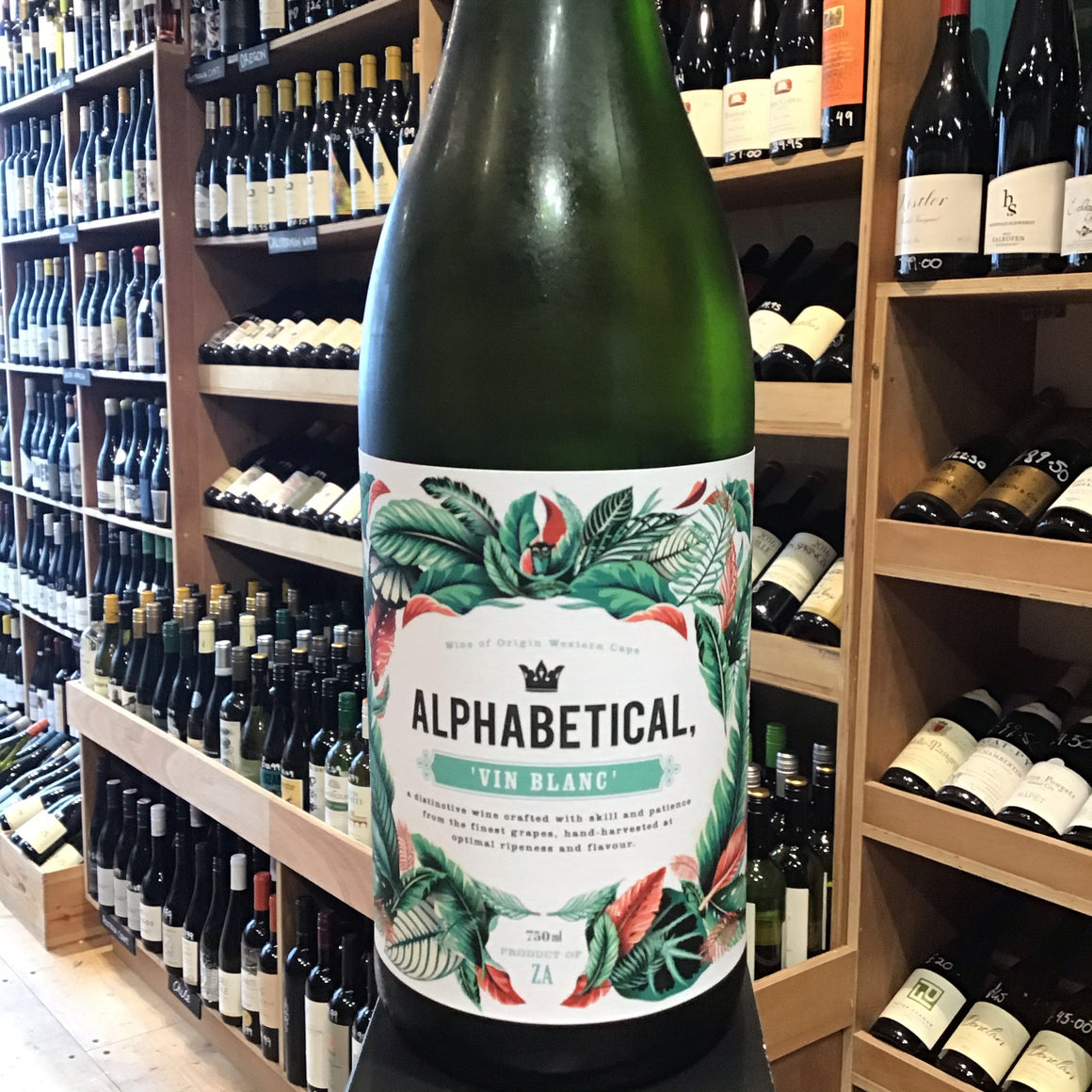 Alphabetical White Vin Blanc 2018 - Butlers Wine Cellar Brighton