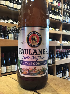 Paulaner Hefe Weiss Non-Alcoholic Beer 50cl - Butlers Wine Cellar Brighton