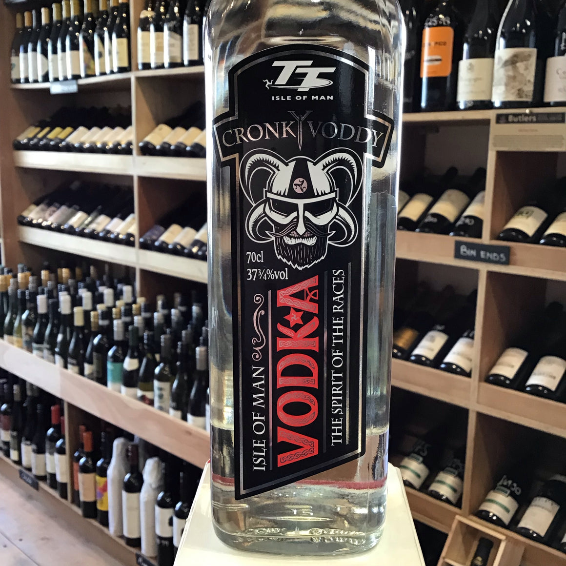 Cronky Vodka 70cl 37.75% Abv - Butlers Wine Cellar Brighton