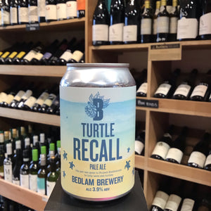 Bedlam Turtle Recall Pale Ale 33cl 3.9% Abv - Butlers Wine Cellar Brighton