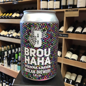 Bedlam Brouhaha Vienna Lager 33cl 4.4% Abv - Butlers Wine Cellar Brighton