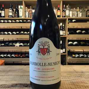Chambolles Musigny Baudes 2009 Domaine Geantet Poisot