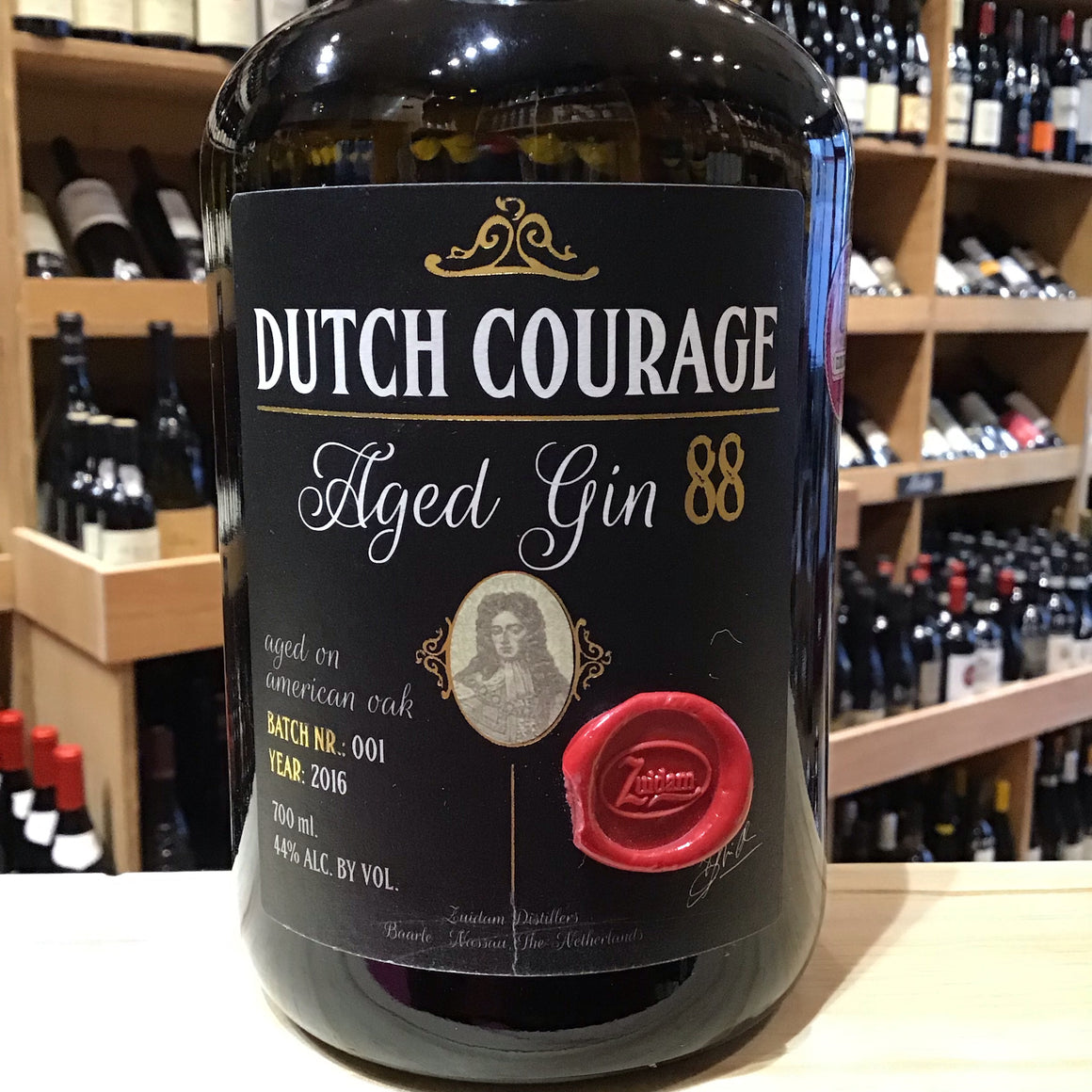 Zuidam Dutch Courage Aged Gin 88 - Butlers Wine Cellar Brighton